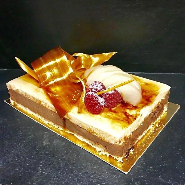 Mousse Poire et Chocolat