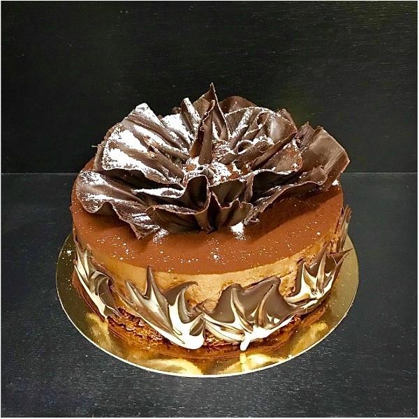 Mousse chocolat praliné